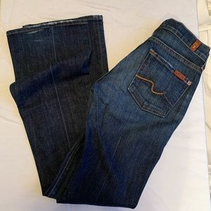 7 For All Mankind - Bootcut Jean - Size 24